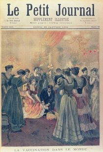 Vaccination at an Evening Reception During a Smallpox Epidemic by French School