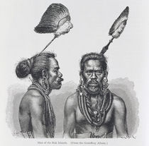 Man of the Ruk Islands, from 'The History of Mankind' by English School
