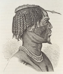 A Zandeh, from 'The History of Mankind' by Richard Buchta
