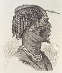 A Zandeh, from 'The History of Mankind' von Richard Buchta