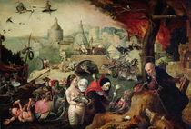 The Temptation of St. Anthony von Pieter Huys