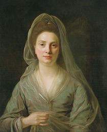 Mrs Benjamin Cole, c.1776 by Nathaniel Hone