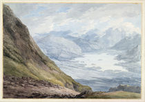View from Skiddaw over Derwentwater by Thomas Hearne