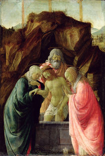 The Entombment by Filippo Lippi