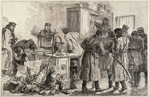 St. Petersburg Police Discovering a Nihilist Printing Press by English School