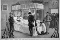 The Funeral of Garibaldi at Caprera: The Body Lying in State von English School