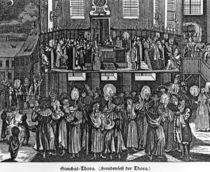 Celebration of the Torah by German School