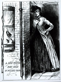 A Lost Woman, Mary Kelly, in Miller's Court by English School
