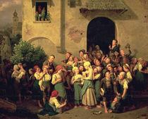 After School, 1844 by Ferdinand Georg Waldmuller