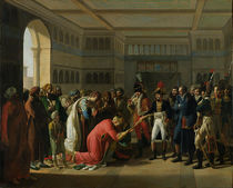 General Bonaparte Giving a Sword to the Military Chief of Alexandria by Francois Henri Mulard