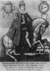 Ferdinand II , Holy Roman Emperor by German School