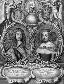 Louis XIV , King of France and Marie-Therese of Austria by Pierre Cocus