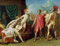 Ambassadors Sent by Agamemnon to Urge Achilles to Fight by Jean Auguste Dominique Ingres