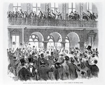 Secession Meeting in Front of the Mills House by American School
