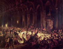 The Assassination of the Bishop of Liege by Ferdinand Victor Eugene Delacroix