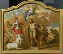 Allegory of the Power of Great Britain by Land by James Thornhill