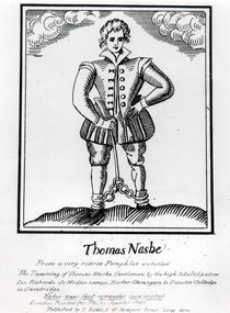 Thomas Nashe , from a pamphlet by English School