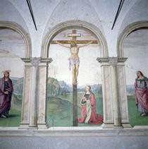 Crucifixion, 1493-6 by Pietro Perugino