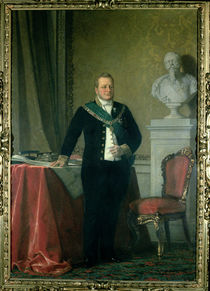 Portrait of Count Camillo Berso of Cavour von Italian School