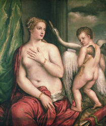 Leda and the Swan by Titian