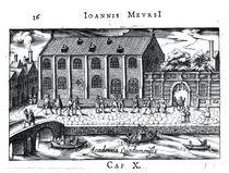 University of Leiden, from 'A Dutch Athens' by J. Meursius von Dutch School