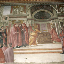 The Angel appearing to St. Zacharias in the Temple von Davide & Domenico Ghirlandaio