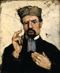 Uncle Dominique as a Lawyer by Paul Cezanne