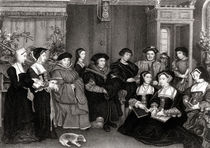 The Family of Thomas More von Hans Holbein the Younger