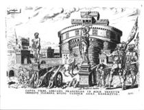 Pope Clement VII is Held Besieged by Charles V High in Hadrian's Tower by Italian School