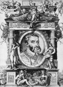 Portrait of Charles V , Holy Roman Emperor by Antonio Salamanca