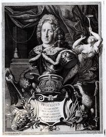 Portrait of Frederick William I by Friedrich Wilhelm Weidemann