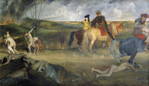 Scene of War in the Middle Ages von Edgar Degas