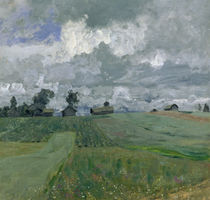 Stormy Day, 1897 by Isaak Ilyich Levitan