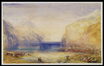 Fluelen: Morning 1845 by Joseph Mallord William Turner