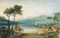 Lake Geneva and Mont Blanc by Joseph Mallord William Turner