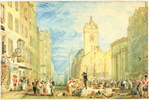 High Street, Edinburgh, c.1818 by Joseph Mallord William Turner