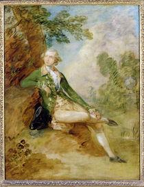 Edward Augustus, Duke of Kent by Thomas Gainsborough