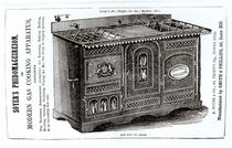 Soyer's Phidomageireion or Modern Gas Cooking Apparatus von English School