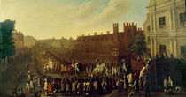 The Restoration of Charles II at Whitehall on 29 May 1660 von Isaac Fuller