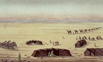 The Desert Camp of Sir Richard Burton von English School