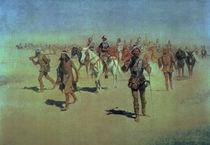 Francisco Vasquez de Coronado Making his Way Across New Mexico by Frederic Remington