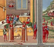 Medieval amputation scene von Italian School