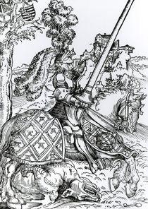 St. George on Horseback, 1507 by Lucas, the Elder Cranach