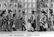 The Macaroni Print Shop, pub. by N. Darley von E Jopham