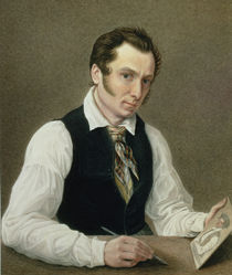 Self Portrait in Peter Prison by Nikolai Alexandrovich Bestuzhev