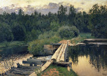 At the Shallow, 1892 von Isaak Ilyich Levitan