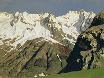 Mont Blanc Mountains, 1897 by Isaak Ilyich Levitan