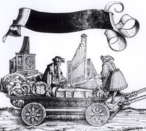 A Musical Carriage, from Maximilian's Triumphal Procession by Hans Burgkmair