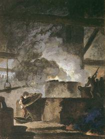 The Saltpetre Works by Louis Jean Jacques Durameau