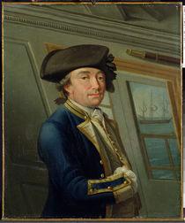 Portrait of Captain William Locker 1769 by Dominic Serres